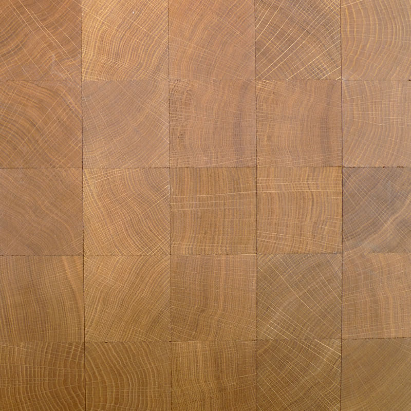 end grain engineered oak