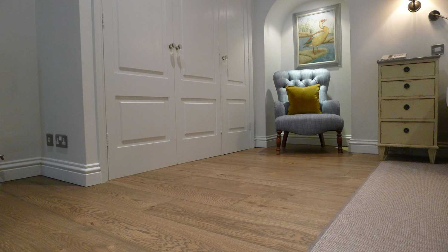 Calcot Manor Vintage Engineered Oak Floor