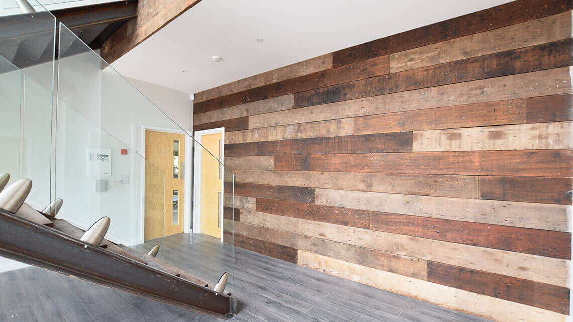 Chaunceys timber flooring project reclaimed douglas fir for Reclaimed douglas fir flooring