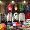 Reclaimed timber cladding at Superdry White City store