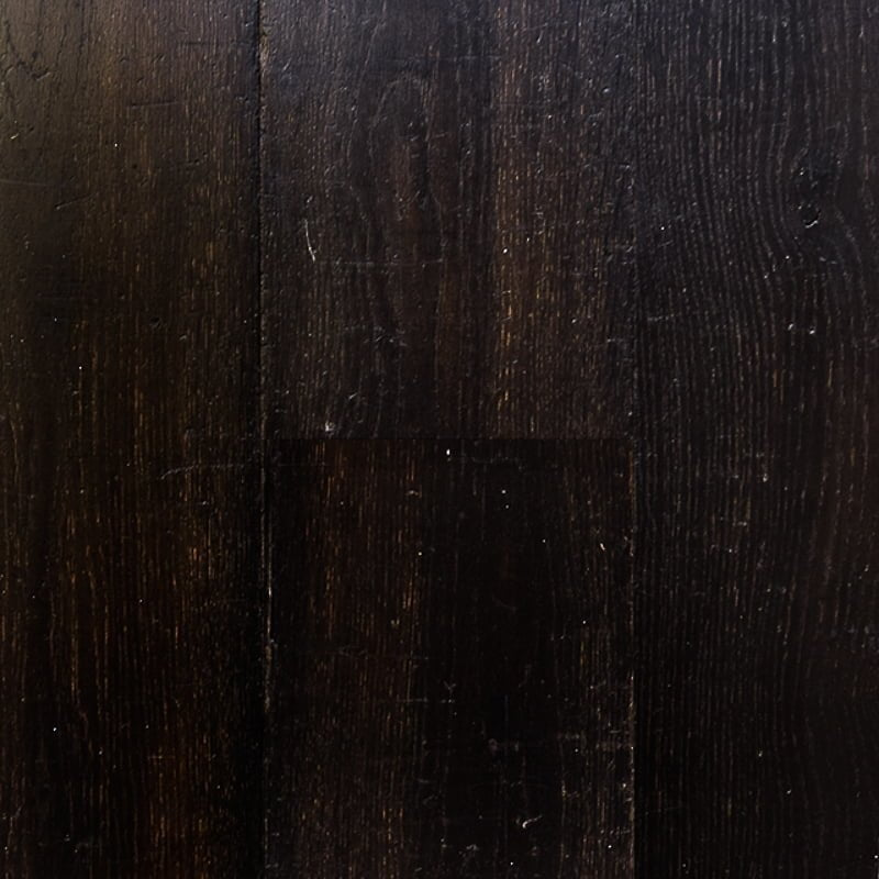 Dark Aged and Distressed Oak Flooring