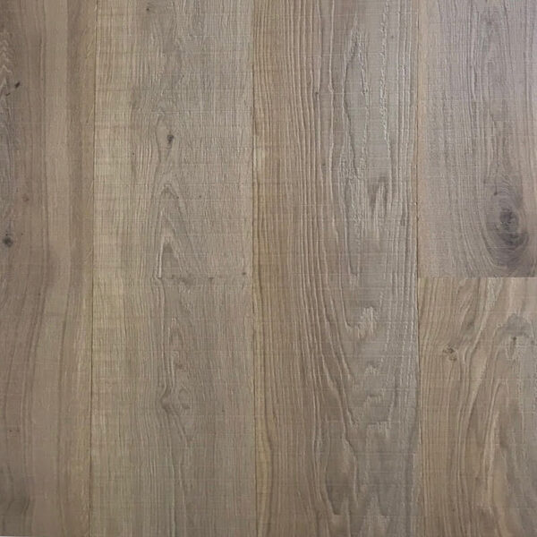Grey Toned Rough Sawn And Brushed Oak Flooring