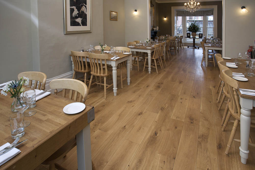 Matt Oiled Engineered Oak Flooring - Wood Flooring Project