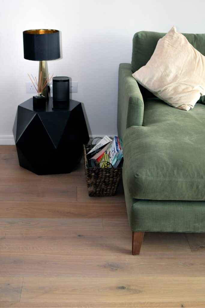 Vintage Natural Brushed Oak Flooring - Wood Flooring Project