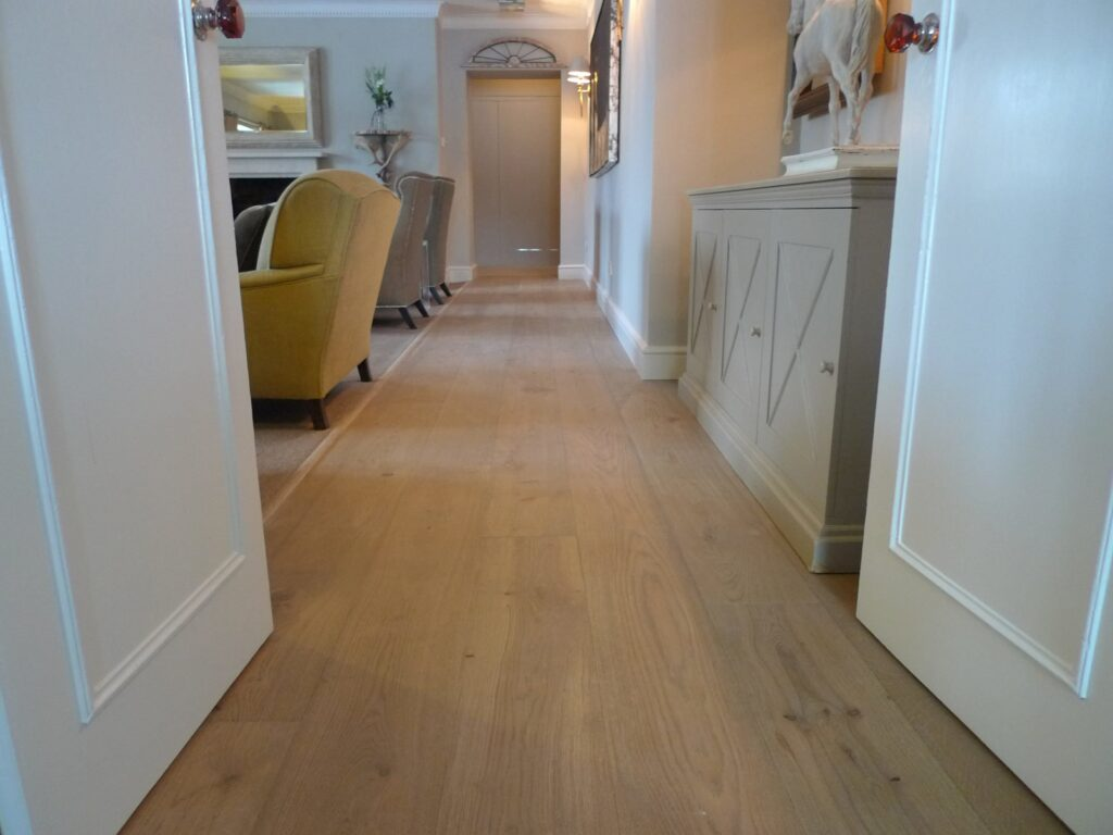 Vintage Grey Aged Oak Flooring - Wood Flooring project