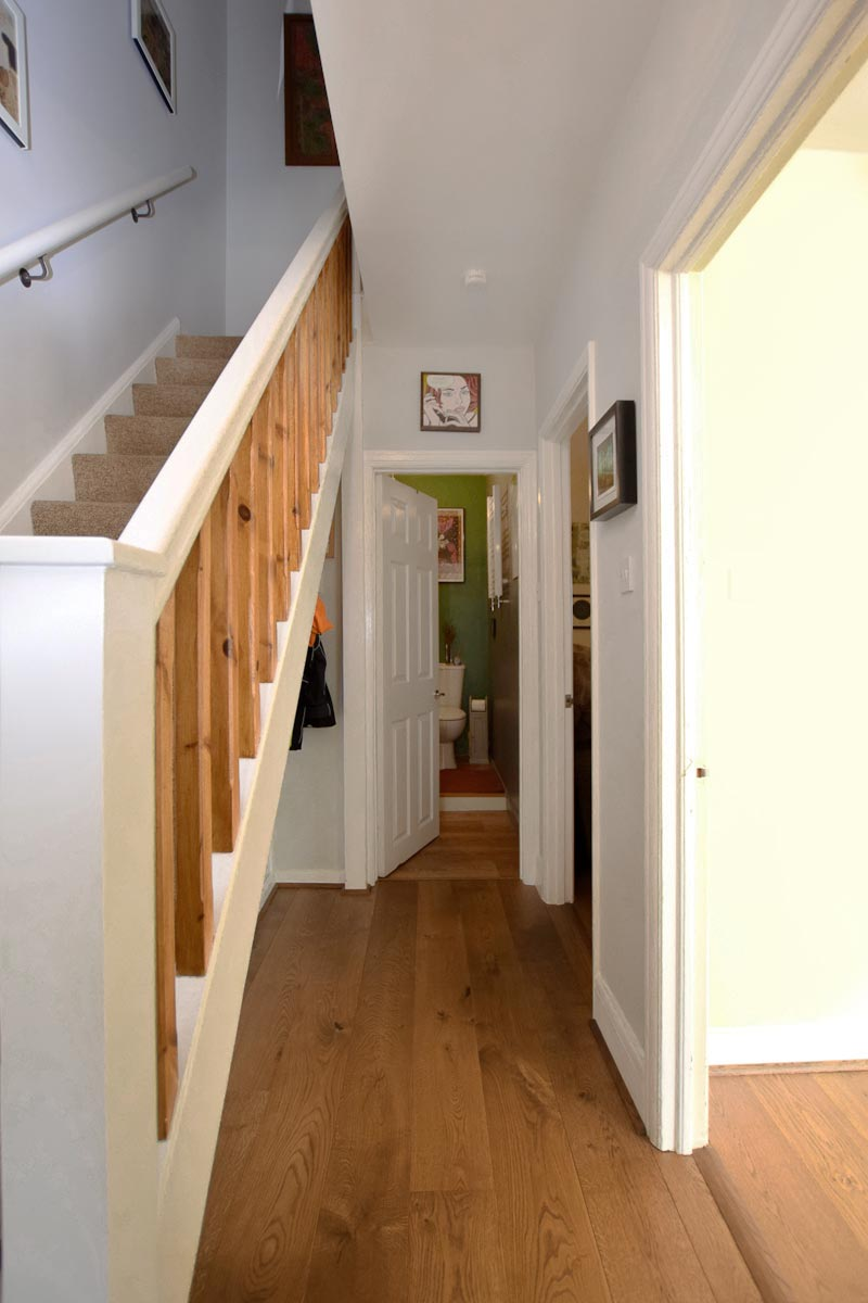 Pullman Brown Finished Oak Floors, Retro Home