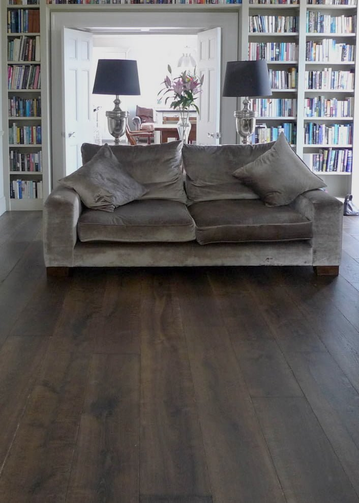 Regency Grey Aged Oak Flooring - Wood Flooring Project