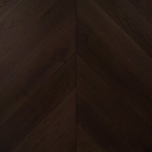 Dark Finished Engineered Chevron