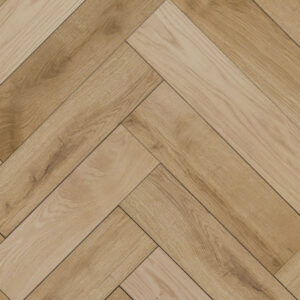 clear oiled engineered herringbone flooring