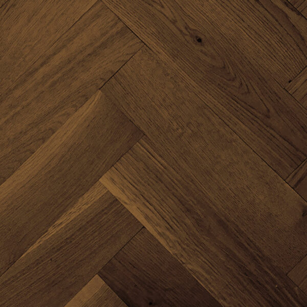 dark finish distressed herringbone Flooring