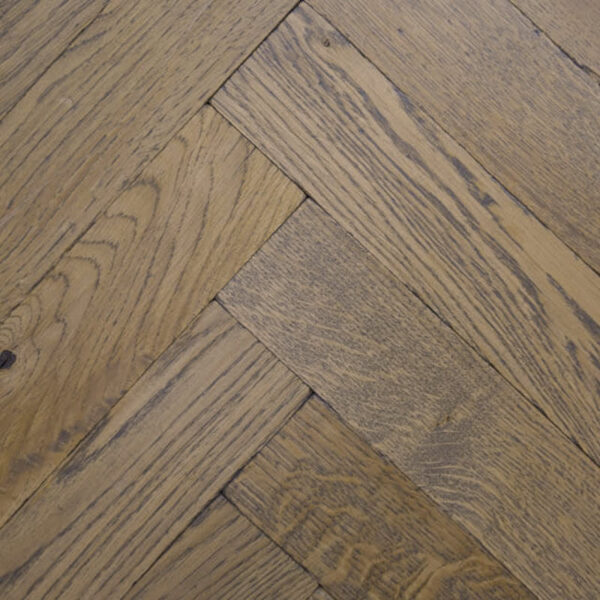 medium colour finish distressed herringbone