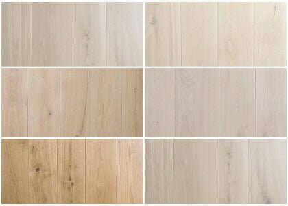 Available finishes - Chaunceys Alabaster collection