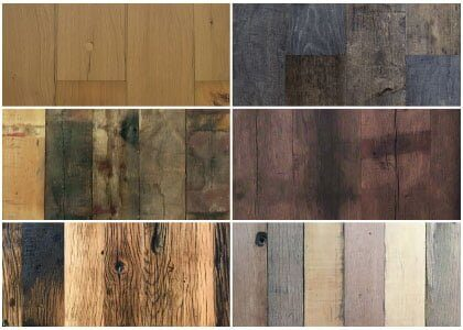 Reclaimed wood flooring - Domaine collection