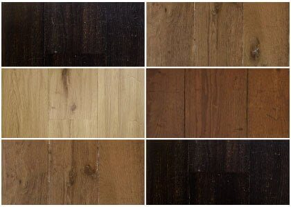 Available finishes - Chaunceys Regency collection