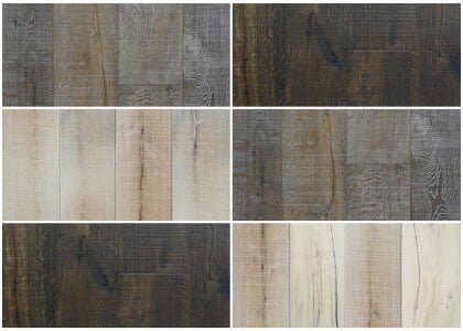 Finishes available - Chaunceys Rustico collection