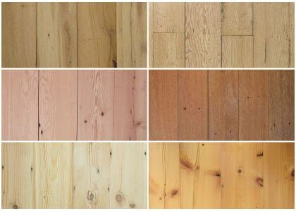 Reclaimed wood flooring - Victorian Collection