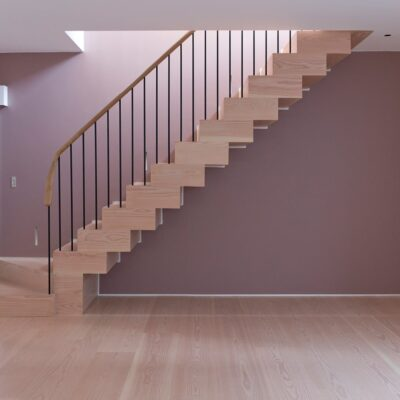 Douglas Fir Staircase London